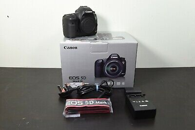 View Details Canon EOS 5D Mark III 22.3MP Digital SLR Camera - Black (Body Only) **56k S/C** • 755.00£