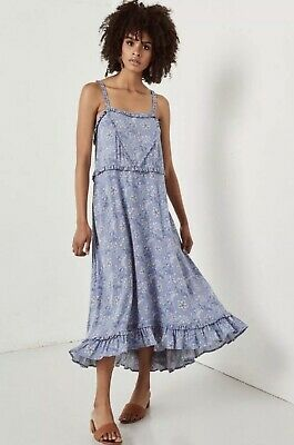fd66886a9 Spell And The Gypsy Collective ❤ CELESTIAL MIDI DRESS Chambray S RARE BNWT  • 160.00