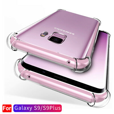 $ CDN2.24 • Buy For Samsung Galaxy S10 S9 S8Plus Note 9 A8 Clear Shockproof Bumper Case Cover Yc