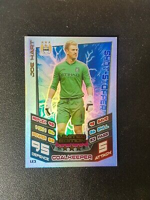 £0.99 • Buy Match Attax Extra 2012/2013 Joe Hart Manchester City  Limited Edition LE3 Mint