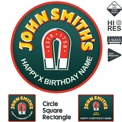 John Smiths 'Another Smooth..' Bitter Beer Ale Magnet Logo Dart Flights x3 *New*