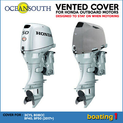 AU92.99 • Buy Outboard Motor Vented/Cowling Cover For Honda 3CYL 808CC BF40, BF50 (2017>)