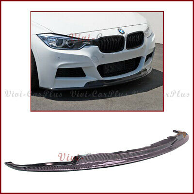 AU588.58 • Buy For 12-16 BMW F30 F31 320i 328 M Tech Bumper AK2 Type Carbon Fiber Front Add Lip