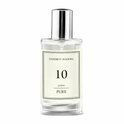 10 – PURE PARFUM FOR HER 50 ML FM Federico Mahora FLORAL WITH A FRUITY NOTE • 15.99£