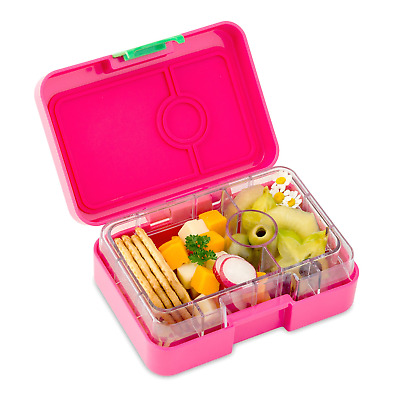 AU40.91 • Buy YUMBOX MiniSnack Leakproof Snack Box Cherie Pink