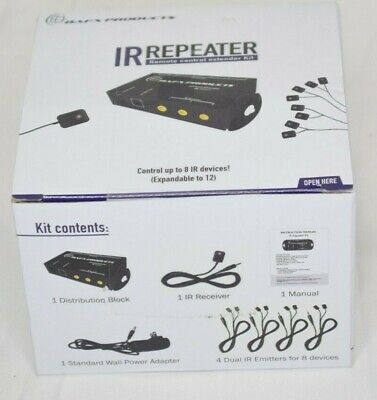 £19.16 • Buy BAFX Infrared IR Repeater / Remote Control Extender - 8 Emitters 1 Receiver New