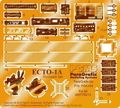 Ghostbusters - Ecto-1A Photoetch Set For AMT 1/25 Scale Kit - PGX164 • 24.15£