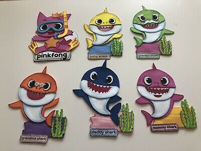 $14.99 • Buy Set De Figuras De Fomi Baby Shark