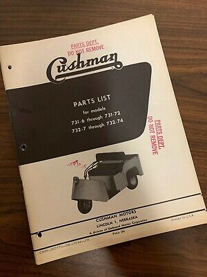used cushman truckster parts on