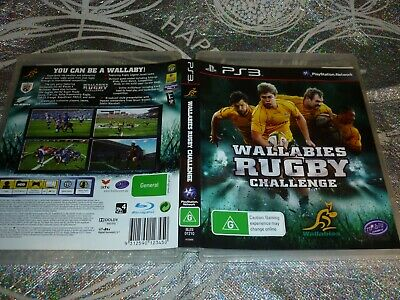 AU5.38 • Buy Wallabies Rugby Challenge (sony Ps3 Game, G)