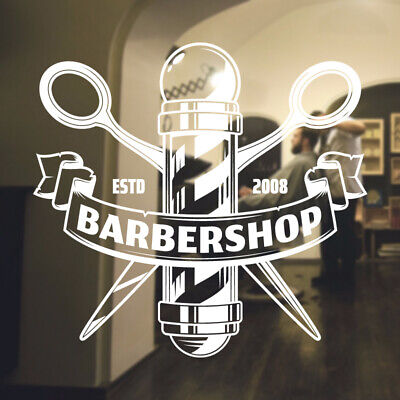 $ CDN34.18 • Buy  Barber Shop Wall Sticker Hipster Beard Graphics Quote Decal Art Bb30
