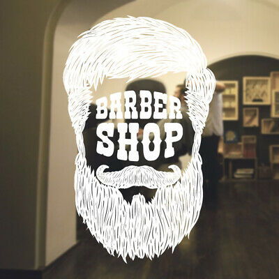 $ CDN46.15 • Buy  Barber Shop Wall Sticker Hipster Beard Graphics Quote Decal Art Bb44