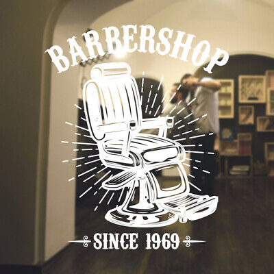 $ CDN46.15 • Buy  Barber Shop Wall Sticker Hipster Beard Graphics Quote Decal Art Bb39