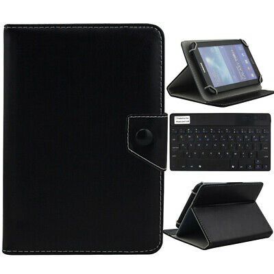 AU20.99 • Buy AU For 9.7 -10.1  Tablet Black Universal Leather Case Cover Bluetooth Keyboard