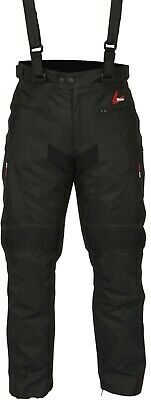 £119.99 • Buy Weise Marin Jeans Men's Black Motorcycle Trousers With Adjustable Braces NEW