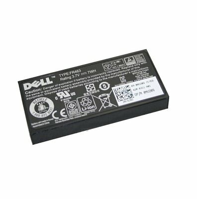 $49.95 • Buy Dell NU209 3.7V 7Whr Li-Ion Battery For PERC RAID Controllers
