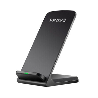 AU15.99 • Buy 10W Qi Wireless Charger Fast Charging Dock Stand For Samsung S10 S10e S9 Note9 8