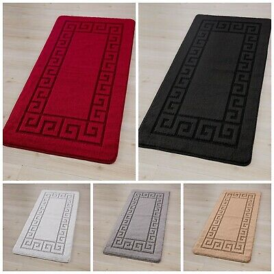 Non Slip Gel Back Small Large Rug Runner Door Mat Indoor Carpet Hallway Kitchen  • 11.98£