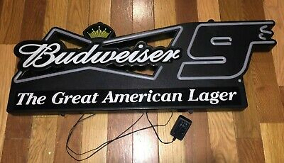 $ CDN162.77 • Buy Kasey Kahne #9 Budweiser Nascar Neon Sign Light Beer Bar Racing Holiday Gift 3'