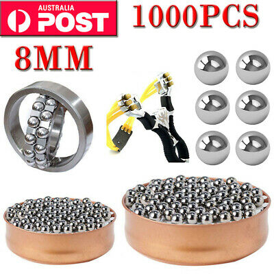 AU59.99 • Buy 1000/2000PCS Steel Replacement Parts 8mm Bike Bicycle Steel Ball Bearing New