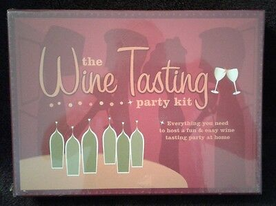 The Wine Tasting Party Kit, 2005, Chronicle Books LLC • 2.50$