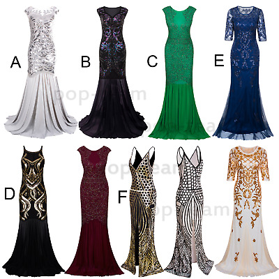 £35.38 • Buy 1920s Flapper Gatsby Cocktail Dress Evening Formal Party Dresses Wedding Gowns