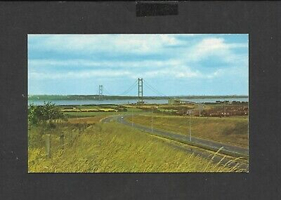£1.99 • Buy Colour Postcard Humber Bridge And Southern Approach Road Unposted