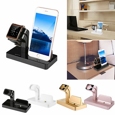 $ CDN17.99 • Buy Charging Dock Station Charger Phone Stand For Apple Watch 4 3 2 IPhone 8 X XS XR