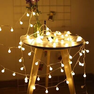 20 LED Electric Festoon Globe Bulb Ball Lamp String Lights Garden Outdoor Indoor • 3.86£