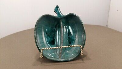 $ CDN14.99 • Buy Blue Mountain Pottery Apple Sectioned Dish