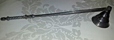 Antique Vintage NOS Silver Plated Candle Snuffer #Z2 • 18.28£