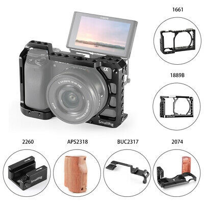 $ CDN54.52 • Buy SmallRig DSLR Cage L-bracket /Cold Shoe/ Hand Grip For Sony A6400 /A6300/A6500