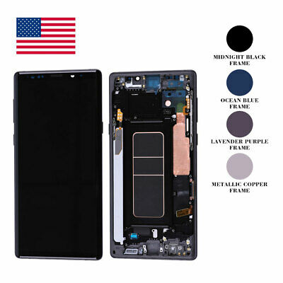 $ CDN220.90 • Buy OEM OLED LCD Display Touch Screen Assembly Replacement For Samsung Galaxy Note 9