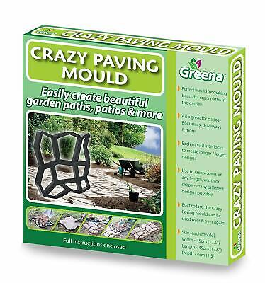 £14.99 • Buy Crazy Paving Mould - Create Your Own Garden Paths