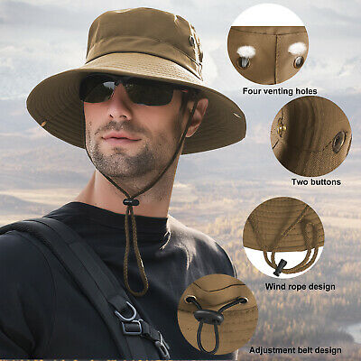 $8.95 • Buy Outdoor Sun Visor Hat UV Protection Cap Hiking Fishing Travel For Women/Men