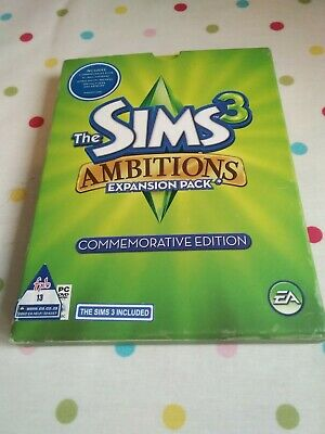 Sims 3 Ambitions Expansion Pack Commemorative Edition (PC DVD) • 5.99£