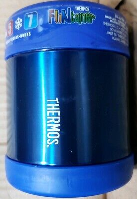 AU19.15 • Buy Thermos Funtainer Vacuum Insulated Stainless Steel Food Jar (10 Oz/ Blue)