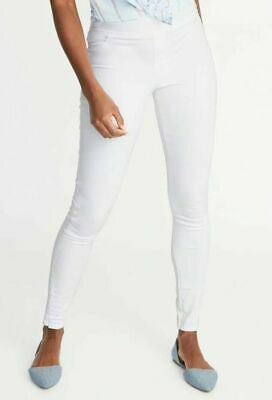 b5fc4c2bb1519 Old Navy Mid Rise Rockstar Pull On Jegging Jeans White NWT 10 • 19.99$