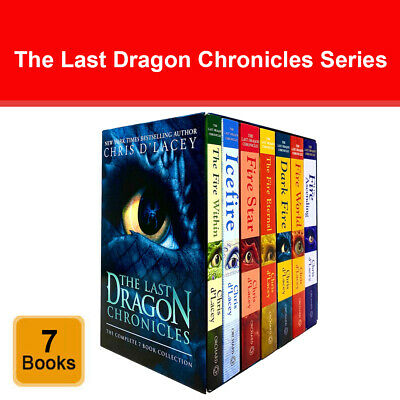 £18.19 • Buy The Last Dragon Chronicles Series 7 Books Collection Box Set By Chris D'Lacey