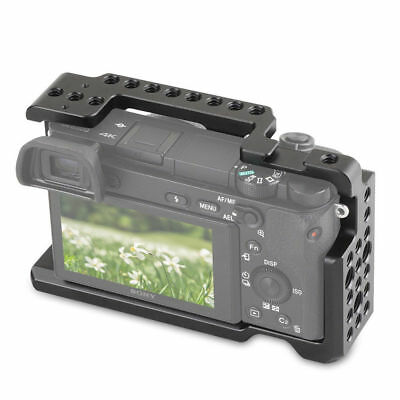 $ CDN41.86 • Buy SmallRig SONY Alpha A6000 A6300 Form Fitted Cage Rig With Cold Shoe Mount 1661