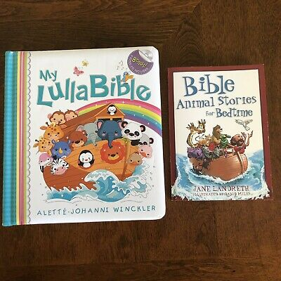 £9.22 • Buy Lot Of 2 Childrens Bible Books My Lulla Bible/Bible Animal Stories For Bedtime