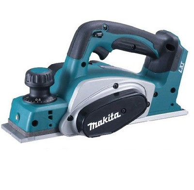 Makita DKP180Z 18V 82mm Li-Ion Cordless Planer 2x Mini TCT Blades Skin Tool Only • 165.65£