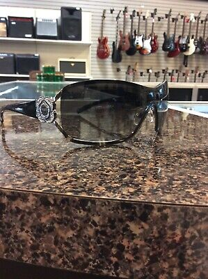 3ee67a6be4b5 Chanel Bronze Camellia White CC Crystal Logo 4164-B Sunglasses • 99.95$