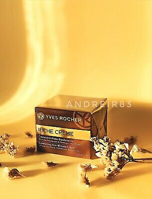 AU54.10 • Buy YVES ROCHER RICHE CREME Wrinkle Reducing DAY 50 Ml Mother's Birthday Gift 41047