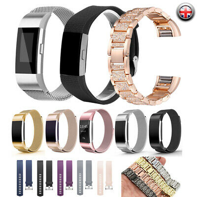 AU16.57 • Buy For Fitbit Charge 2 Wrist Straps Wristband Best Replacement Accessory Watch Band