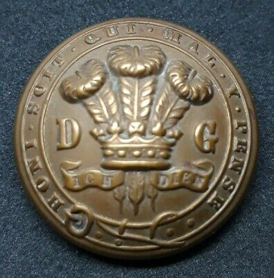 3rd Dragoon Guards 25mm Tunic Button By Firmin • 7.49£