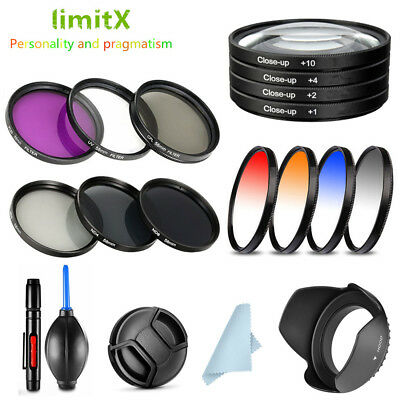 $10.99 • Buy Bundle Filter Kit / Lens Hood / Cap / Cleaning Pen / Blower For Sony Cyber-shot