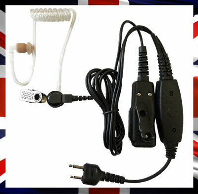 Acoustic Tube Earpiece - Security Earpiece - Two Way With Mic - Radio Headset • 26.40£