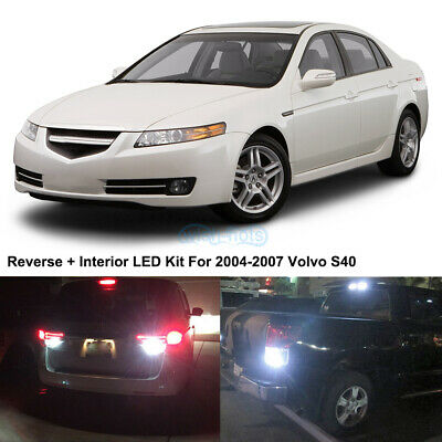 $27.98 • Buy 15 X HID White LED Interior Bulbs + Reverse + Tag Lights For 2004-2008 Acura TL