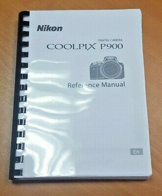 Nikon Coolpix P900 Camera Printed User Manual Guide Handbook 242 Pages A5  • 5.99£